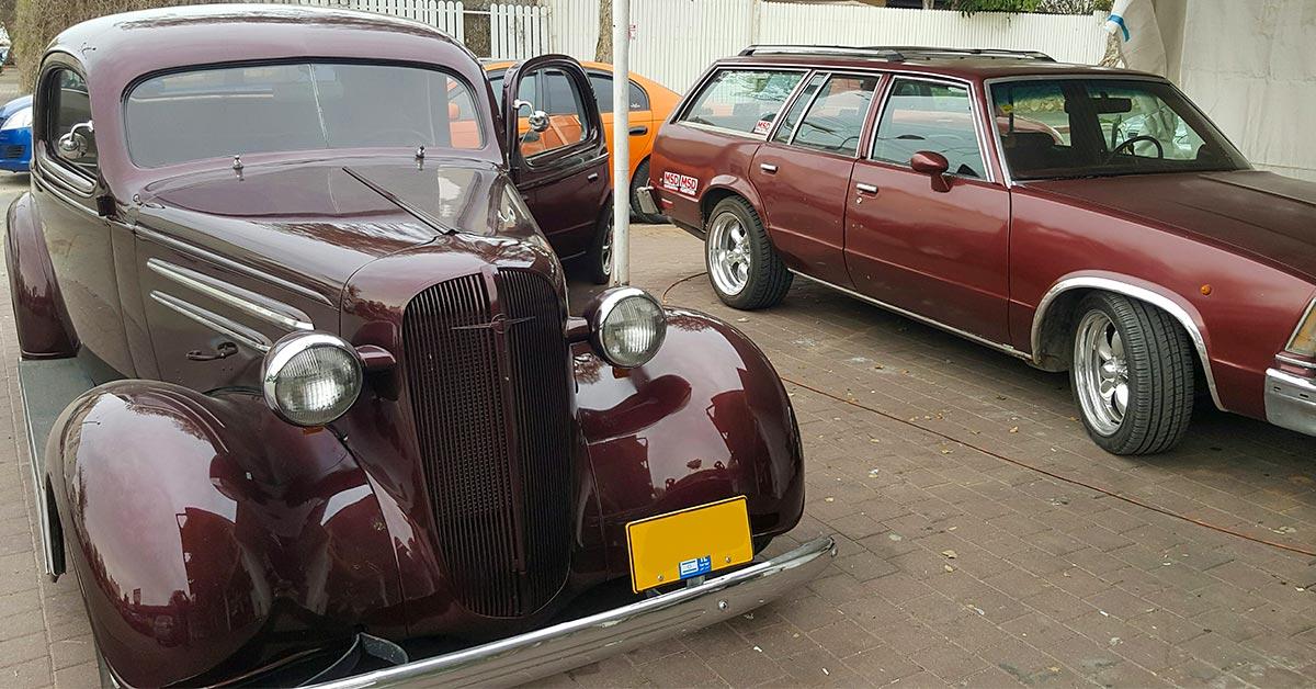 שחזור פנימי לרכב אספנות – Chevrolet Master 1936